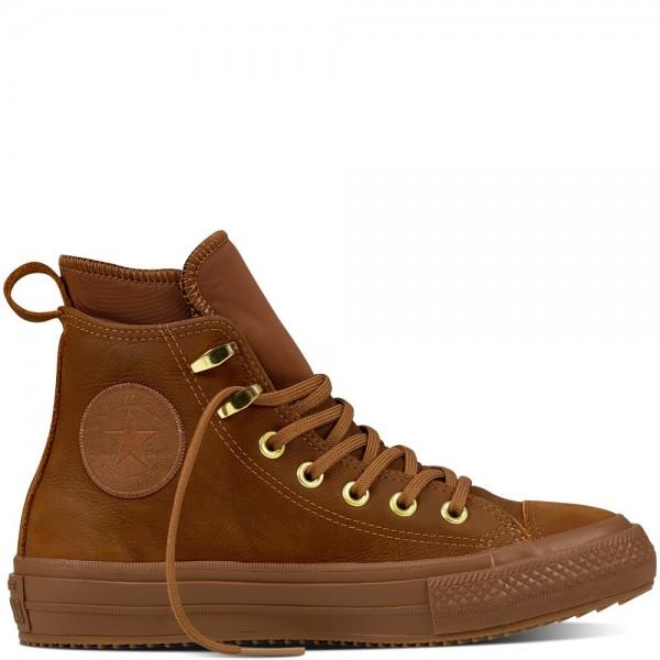 Converse Chuck Taylor All Star Waterproof Nubuck Boot Brown/Brown/Brass 557946C