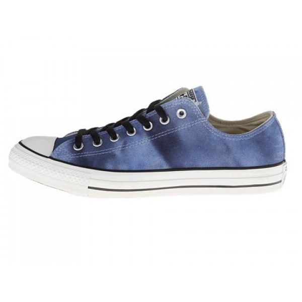 Converse Chuck Taylor All Star Tie Dye Suede Ox Airway Blue Dozar Blue Men's Shoes