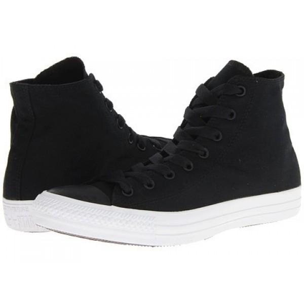 Converse Chuck Taylor All Star Hi Mono Black Men's Shoes
