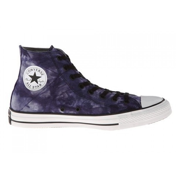 Converse Chuck Taylor All Star Tie Dye Canvas Hi Dozar Blue Ensign Blue Puritan Gray Men's Shoes