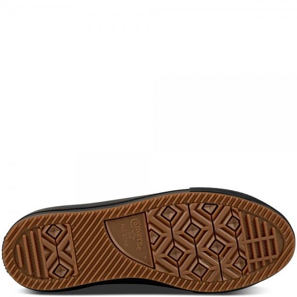Converse Chuck Taylor All Star Waterproof Nubuck Boot Black/Black/Brass 557945C