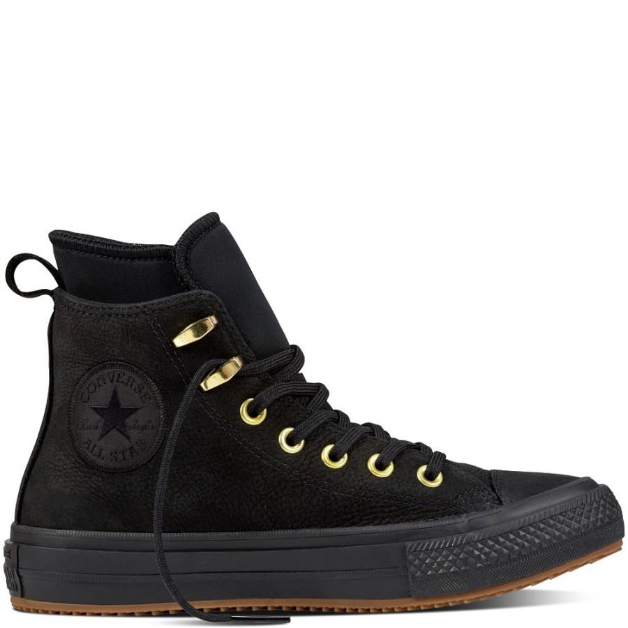 Star Waterproof Nubuck Boot Black
