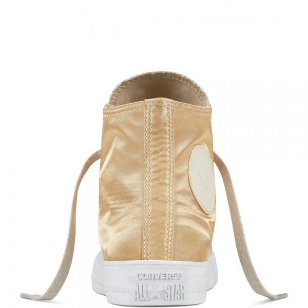 Converse Chuck Taylor All Star Satin Women's Shoe Parchment/Parchment/White 557940C