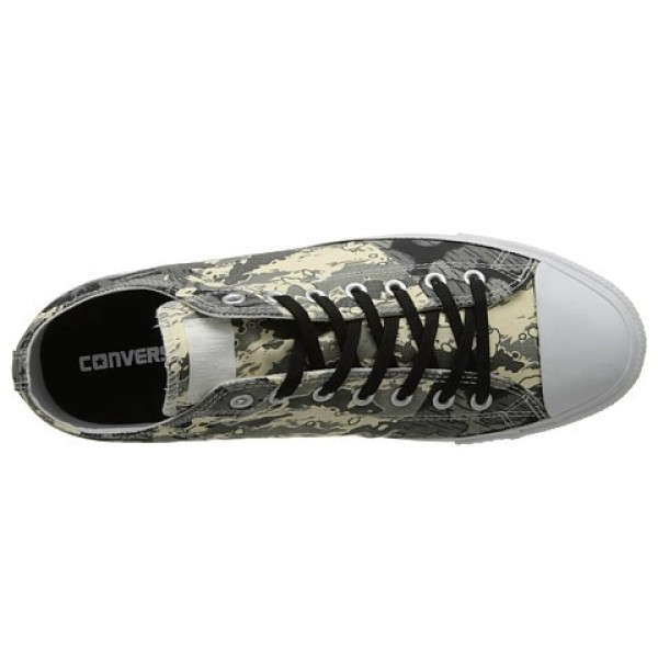 Converse Chuck Taylor All Star Tri-Panel Camo Ox Natural Charcoal Old Silver Men's Shoes