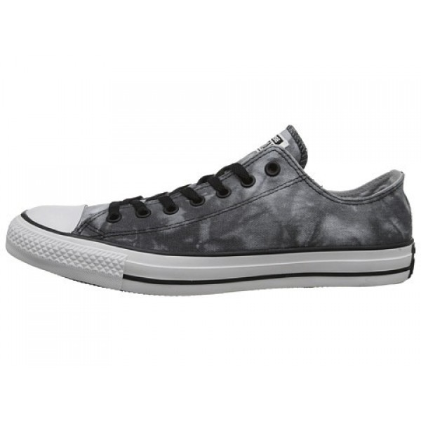 Converse Chuck Taylor All Star Tie Dye Canvas Ox Graphite Old Silver Oyster Gray Men's Shoes