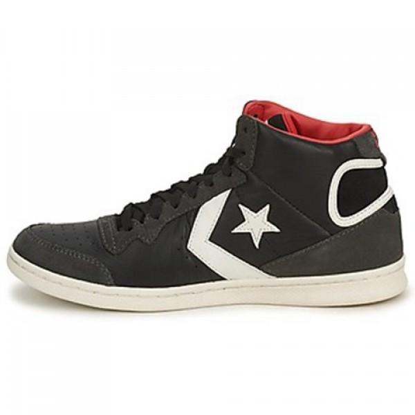 Converse Skate Shoes Black Grey Men's Shoes