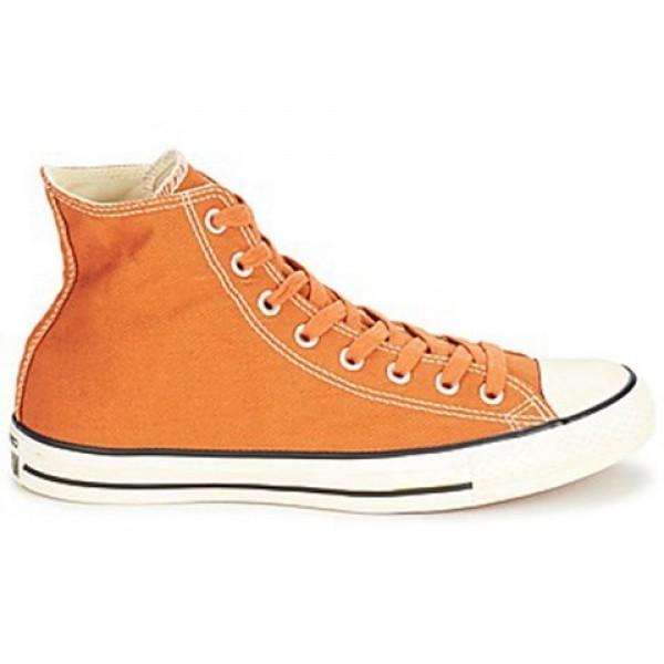 Converse Chuck Taylor Vint Twil Hi Rust Orange Wom...