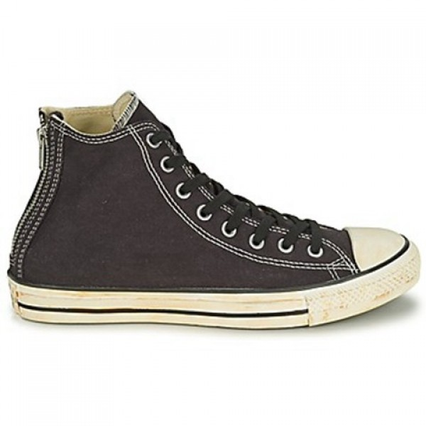 Converse Chuck Taylor Vint Twil Zp Black Women's Shoes