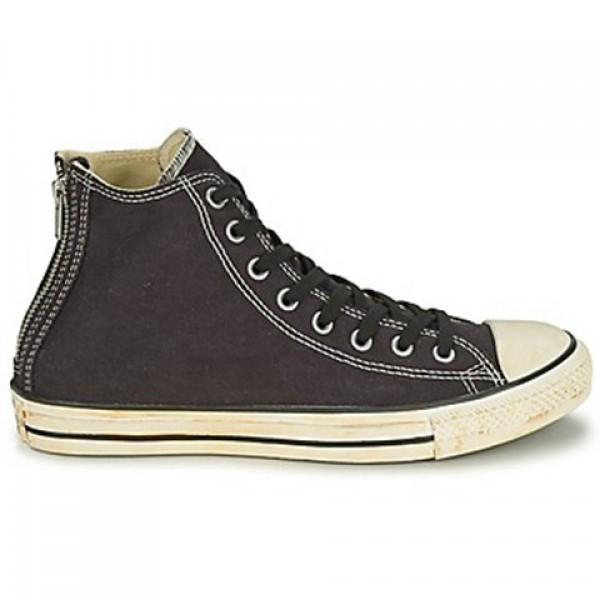 Converse Chuck Taylor Vint Twil Zp Black Women's Shoes