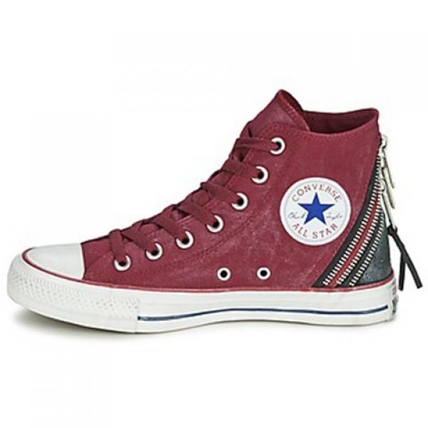 Converse Chuck Taylor Star Playerarkle Wall Starh Bordeaux Women's Shoes