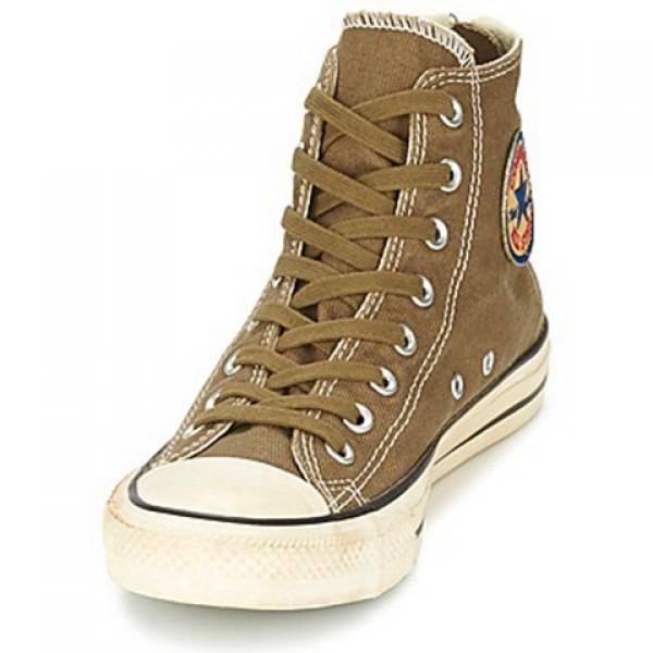 Converse Chuck Taylor Vint Twil Zp Kaki Women's Shoes