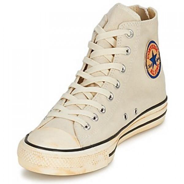 Converse Chuck Taylor Vint Twil Zp Ecru Women's Shoes