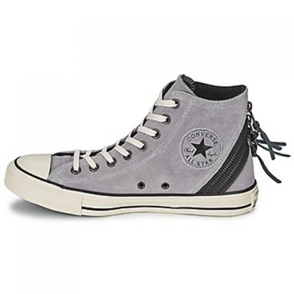 Converse Chuck Taylor Burn Tri Zip Grey Women's Shoes