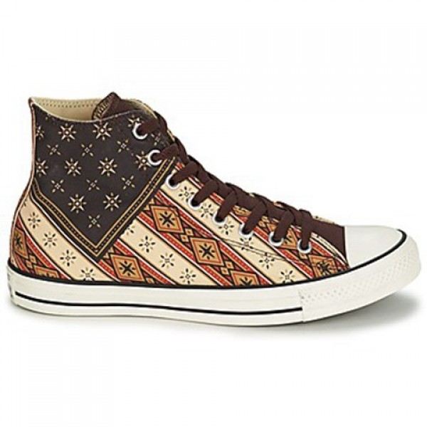 Converse Chuck Taylor Americana Hi Brown Red Brick...