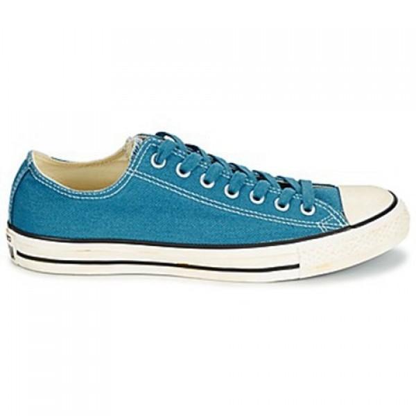 Converse Chuck Taylor Vint Twil Ox Blue Women's Shoes