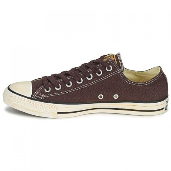Converse Chuck Taylor Vint Twil Ox Chocolate Women's Shoes