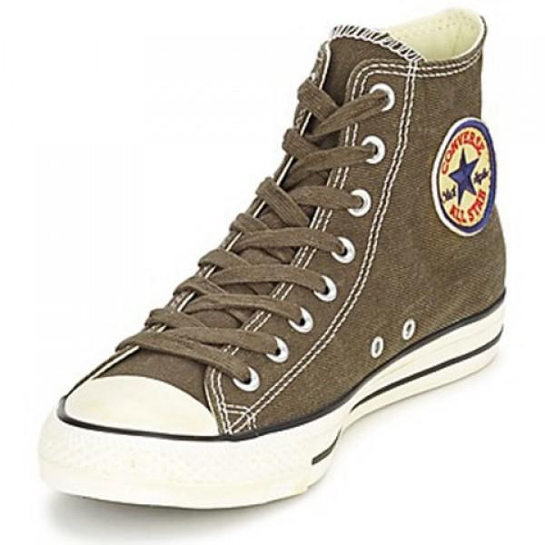Converse Chuck Taylor Vint Twil Hi Green Kaki Women's Shoes