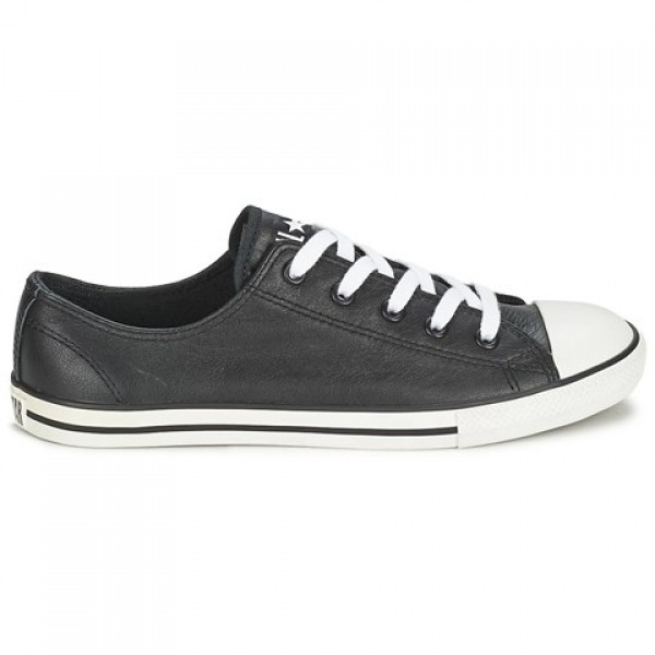 Converse Dainty Ox Black Women's Shoes