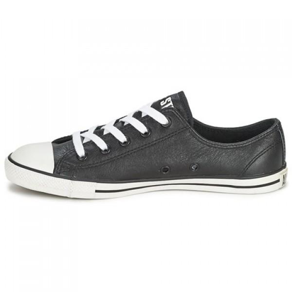 Converse Dainty Ox Black Women's Shoes
