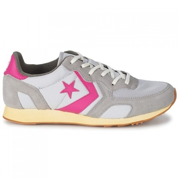 Converse Auckland Racer Ooyster Grey Pink Women's ...