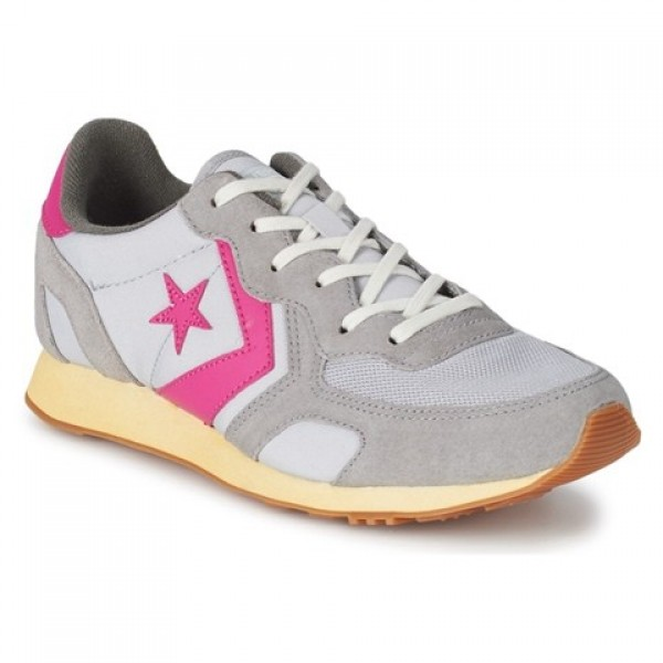 Converse Auckland Racer Ooyster Grey Pink Women's Shoes