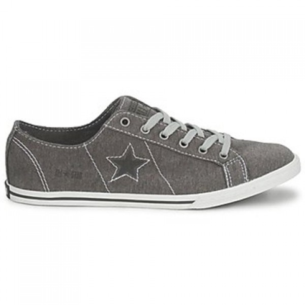 Converse One Star Low Profile Jersey Ox Grey White...