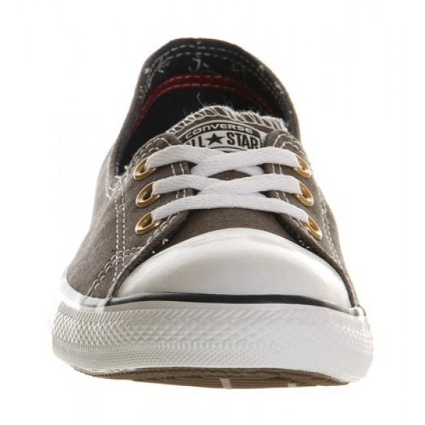 Converse Dance Lace Charcoal Grey Anchor Exclusive Women's Shoes