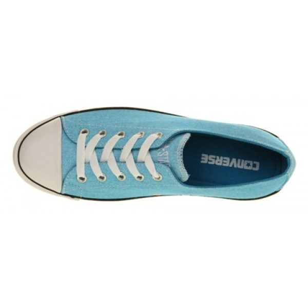Converse Ctas Lite Ox Faded Neon Blue Women's Shoes