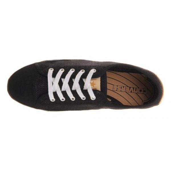 Converse Ctas Playlite Black Crochet Women's Shoes