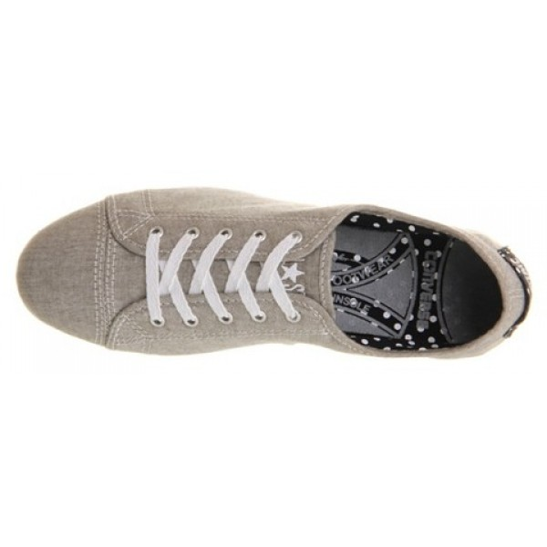 Converse Ctas Playlite Phaeton Grey Black White Polka Women's Shoes