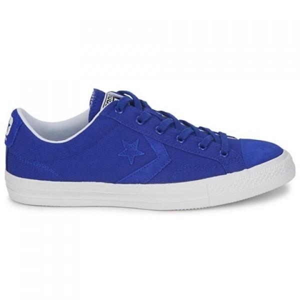 Converse Star Player Ox Blue Women's Shoes