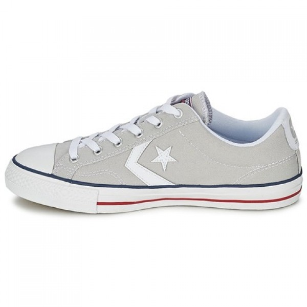 Converse Star Player Core Canv Ox Grey Clear White Women's Shoes
