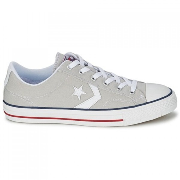 Converse Star Player Core Canv Ox Grey Clear White...