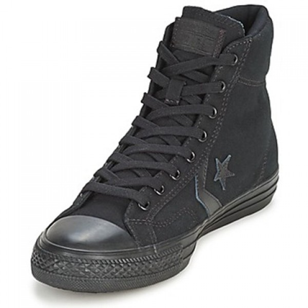 Converse Star Player Mono Cvs Hi Black Mono Men's Shoes