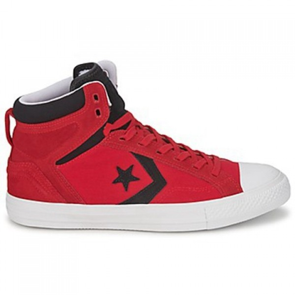 Converse Star Player Plus Red Black Women's Shoes