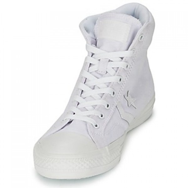 Converse Star Player Mono Cvs Hi White Mono Women's Shoes