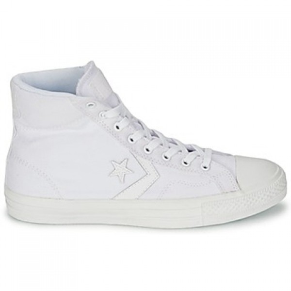 Converse Star Player Mono Cvs Hi White Mono Women'...