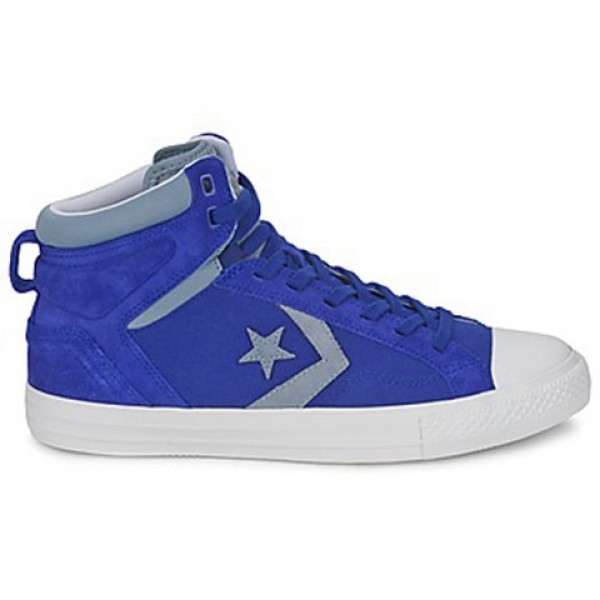 Converse Star Player Plus Blue Grey Women's Shoes