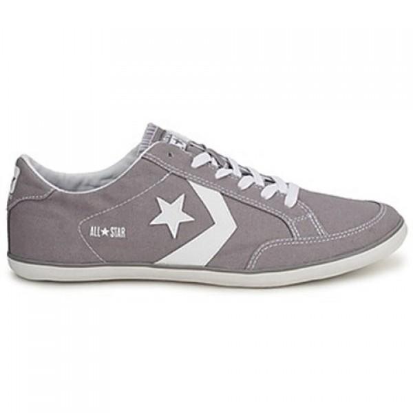 Converse Plimsole Sport Ox Canvas Grey White Men's Shoes