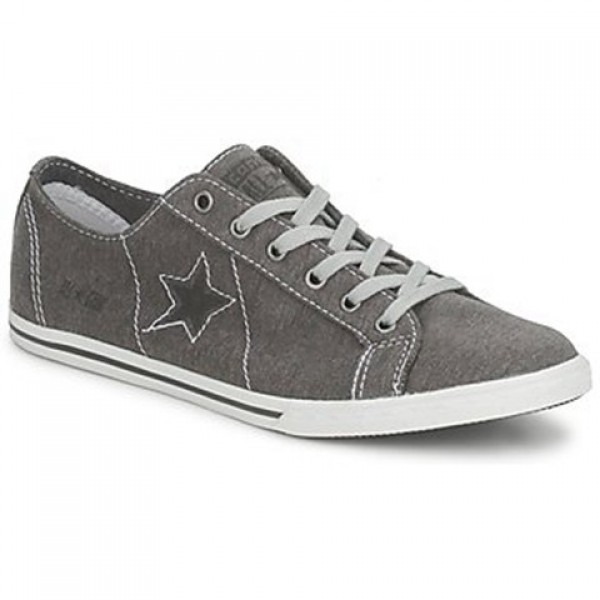 Converse One Star Low Profile Jersey Ox Grey White Men's Shoes