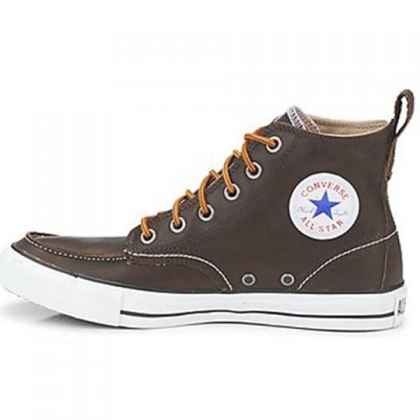 Converse Classic Boots Hi Brown Men's Shoes
