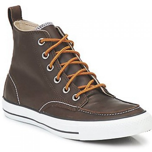 Converse Classic Boots Hi Brown Men's Shoes