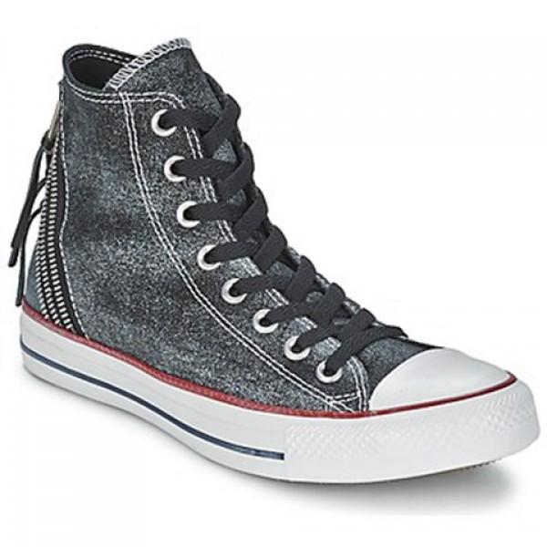 Converse Ctas Sparkle Wash Tri Zip Hi Ctas Sparkle Wash Tri Zip Hi Black Women's Shoes