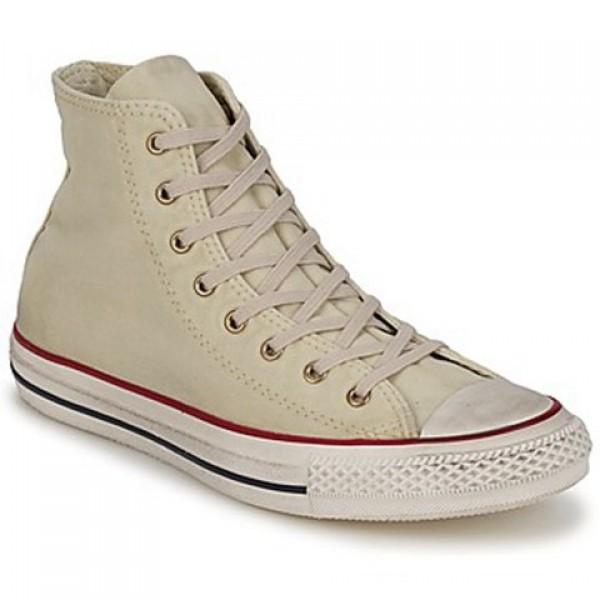 Converse Ctas Washed Hi Top Tutledove Women's Shoes