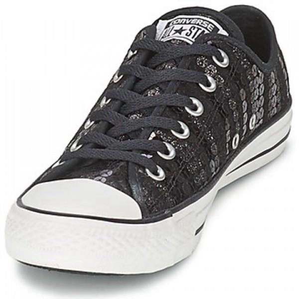 Converse CT Sequin Shine Black Women's Shoes