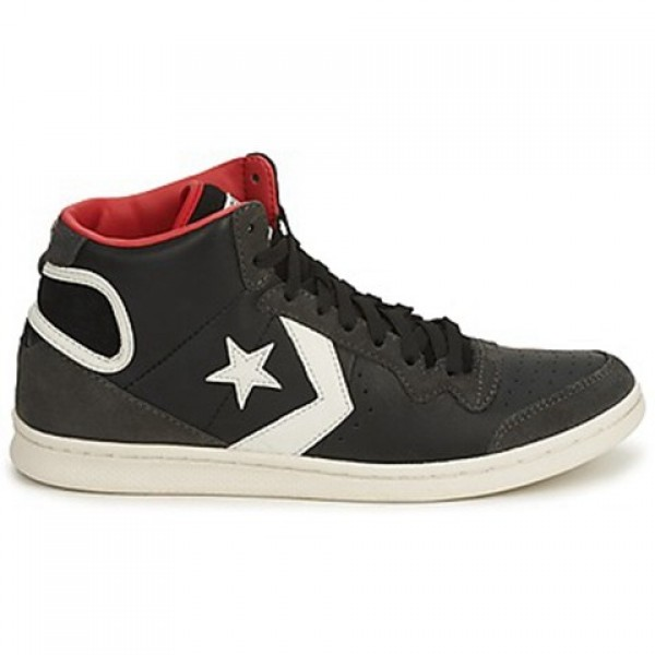 Converse Skate Shoes Black Grey Women's Shoes