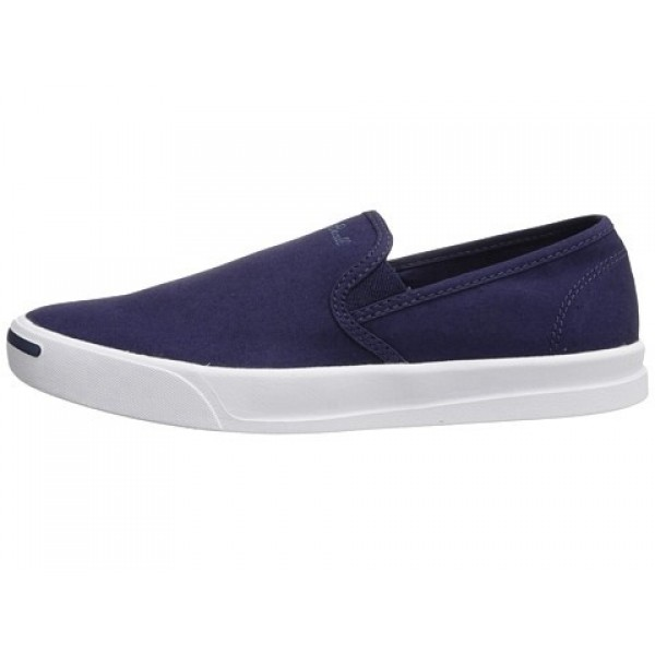 Converse Jack Purcell Jeffrey Slip Dozar Blue White Men's Shoes