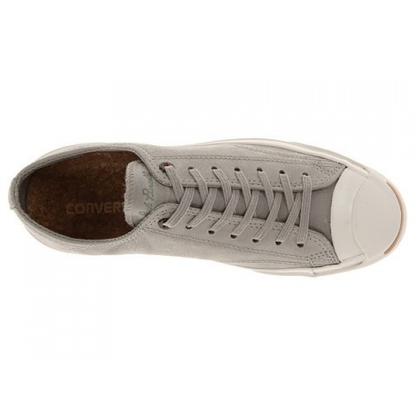 Converse Jack Purcell Jack Ox Old Silver Men's Shoes