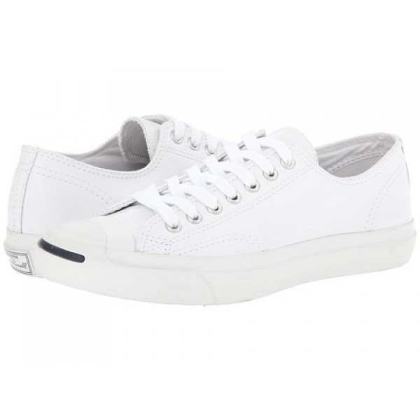 Converse Jack Purcell Leather White Navy Men's Shoes
