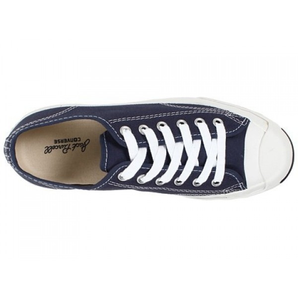 Converse Jack Purcell CP Oxford Navy Blue White Men's Shoes